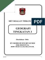 Set Soalan Terancang Geografi( Cuti Pmr)
