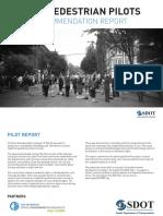 PikePine Pedestrian Pilot Report