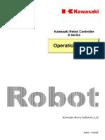 Operation Manual (E Series) - Kawasaki