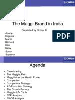 The Maggi Brand in India