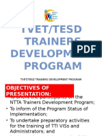 TVET Trainers Development Presentation Final for Adcon