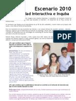 Escenario 2010 en Publicidad Interactiva e Inquba