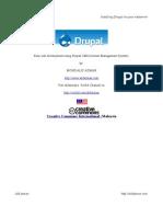 Chapter1 :Installing Drupal