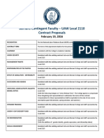 BCF-UAW Local 2110 Contract Proposals