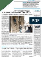 """L'ateneo diventa il nuovo editore della rivista della CNA / """"Ora discutiamo dei meriti"""" - Il Resto del Carlino del 13 aprile 2016"""