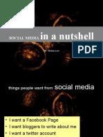 Social Media in a Nutshell