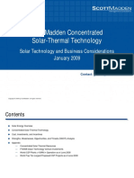 Concentrated Solar Thermal Technology - by ScottMaden