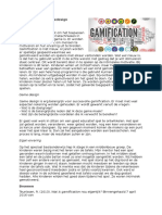 gamification en gamedesign