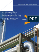 Accenture Services Achieving High Performance Energy
