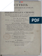 Lettres Sur La Profession d'Avocat Tome 2 Warée Oncle 1818