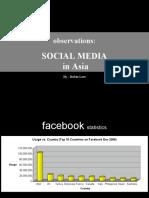 Social Media Observations
