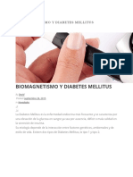 Biomagnetismo y Diabetes Mellitus