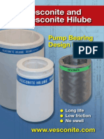 Vesconite Pump Bearing Design Manual