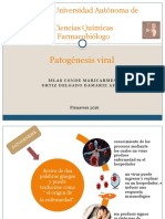 Presentacion Patogénesis Viral