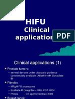 HIFU  Application