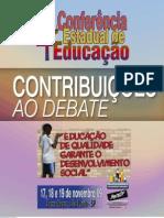 Cadernos Contribuicao Debate