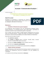 compte-rendu de projet sur les infrastructures agro-écologiques pour réguler le campagnol provençal