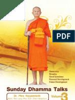 Sunday Dhamma Talks 3