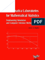 Mathematica Laboratories for Mathematical Statistics (ASA-SIAM Series on Statistics and Applied Probability) (Jenny a. Baglivo) 0898715660