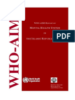 Who Aims Report Iran