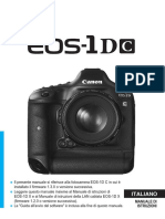 EOS-1D C Instruction Manual IT