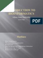 bioinformatics presentation
