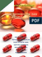 PPT Trombolitik Dan Anti Platelet