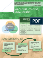 Integrating Culture, Content, and Language in a World Language Classroom