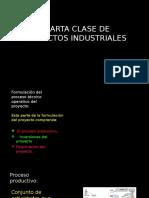 CUARTA CLASE DE PROYECTOS INDUSTRIALES