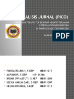 Analisis Jurnal (Pico)