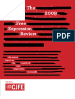 Canadian Journalists for Free Expression - 2009 review