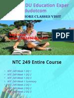 NTC 249 EDU Peer Educatordotcom