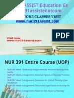 NUR 391 ASSIST Peer Educatordotcom