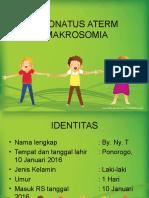 Laporan Kasus Makrosomia