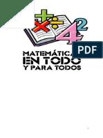 2016 Plan de Area de Matematicas Con Reajustes