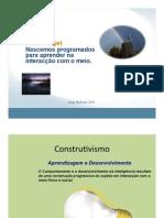 Piaget - Desenvolvimento Cognitivo 1