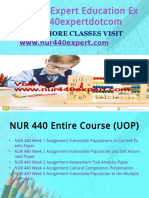 NUR 440 EXPERT Peer Educatordotcom