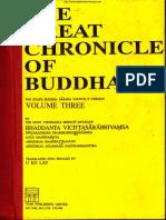 038. The Great Chronicle of Buddha (Vol3) - MinGun SayadawGyi