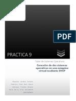 Conexión de dos sistemas operativos en una máquina virtual mediante DHCP