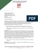 Response to Bill 21 620 CM Mendelson Letter 4-11-2016