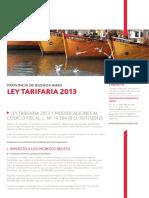 Ley Tarifaria Buenos Aires 2013