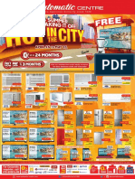 Hot in the City - Summer 2016 Mailer