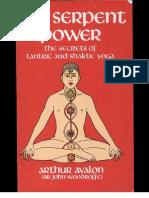 Arthur Avalon the Serpent Power
