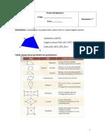 Ficha Informativa - Quadrilateros