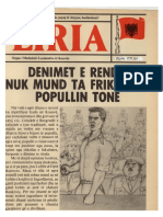 """Liria"" Nr. 6 - dhjetor 1981"
