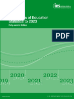 Projections of Education Statistics to 2023