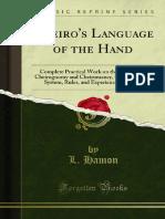 Cheiros Language of the Hand - Sukesh