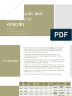 ed 504 equity audit and root cause analysis
