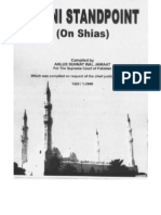 Sunni Standpoint on Shias
