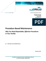 GP Allied Procedure Based Maintenance
